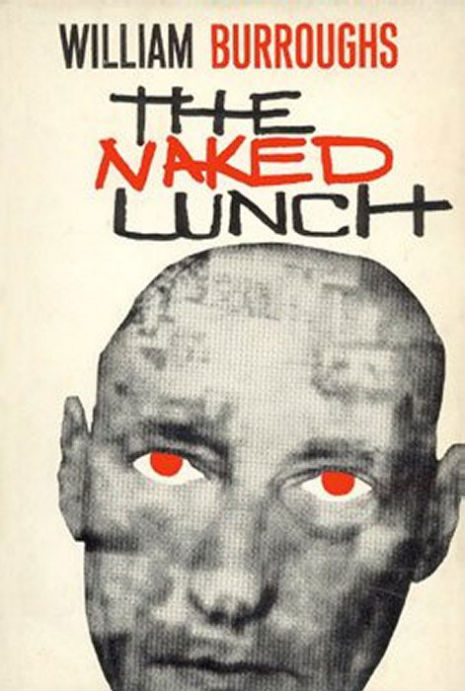 Naked Lunch (WIlliam Burroughs Book Cover by Mr Hass) A2