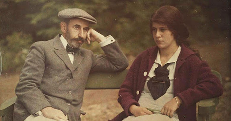 Beautiful color Autochrome portraits by Alfred Stieglitz 1910-15
