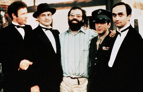 Francis Ford Coppola's original cast list for 'The Godfather'