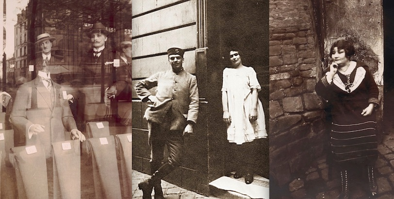 Prostitutes, mannequins and street traders: The flâneur who photographed Paris, 1890s-1920s