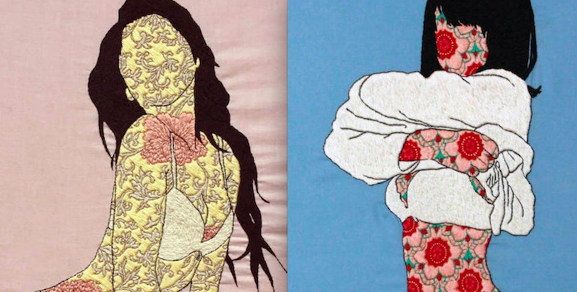 Thread Bare: Examining racial and sexual identity through erotic embroidery