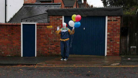 Pennywise speaks!: Scary Northampton Clown talks to his local paper