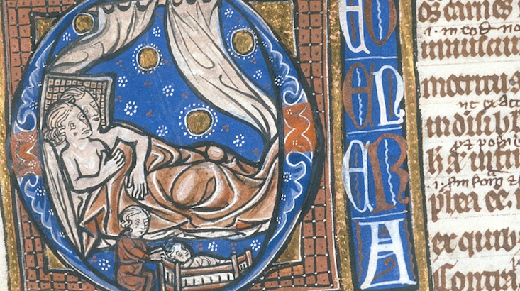 A handy guide to sex in the Middle Ages: The original 'Just Say No' campaign