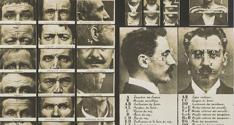 The original guide to identifying criminals from 1909