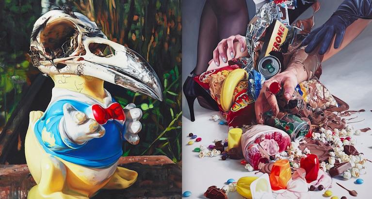 The Surrealist Pop Art of Till Rabus (NSFW)