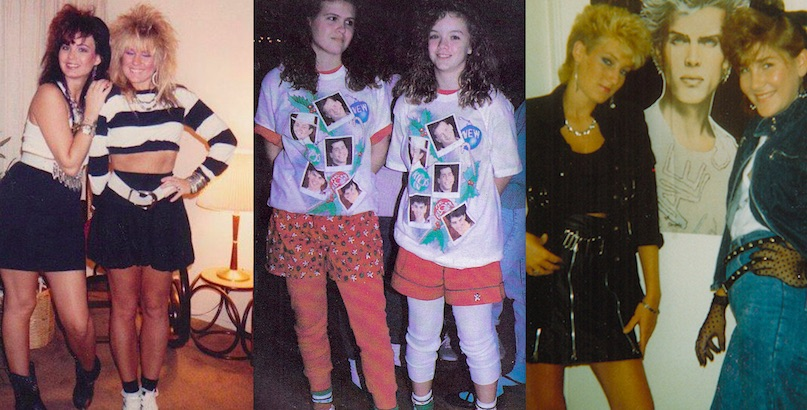 Girls just wanna have fun: Teenage fashion of the 1980s