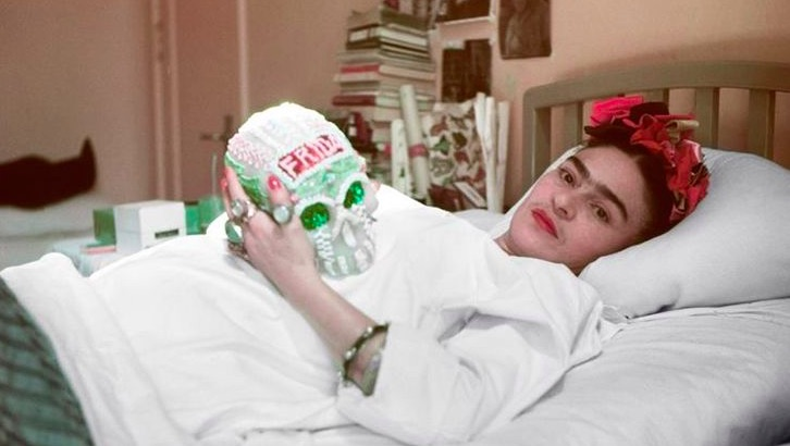 Frida Kahlo: Her final years, in black & white and color