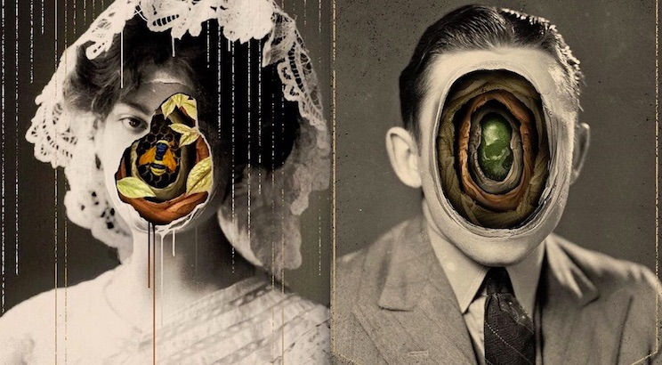 The Peopled Wound: The strange and disturbing collages of Alex Eckman-Lawn