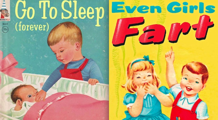 Evil little F*ckers: Hilarious spoof covers for 'Bad Little Children's Books'