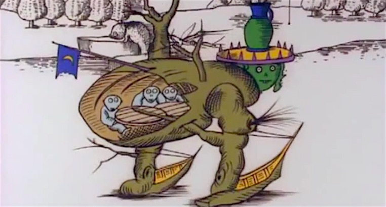 'The Midnight Parasites': Yōji Kuri's surreal Hieronymus Bosch inspired animation from 1972