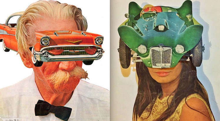 Weirdsville: The strange and darkly unsettling collages of Chad Yenney