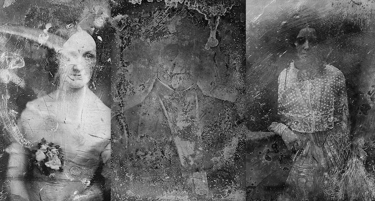 The strange allure of decayed daguerreotypes