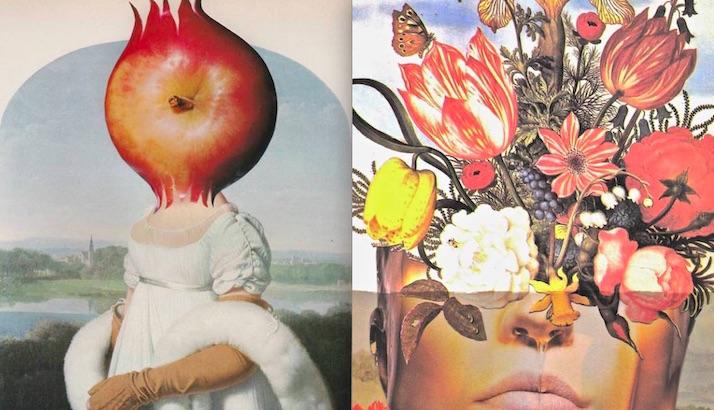 Power, Beauty & the Feminine: The collage art of Deborah Stevenson