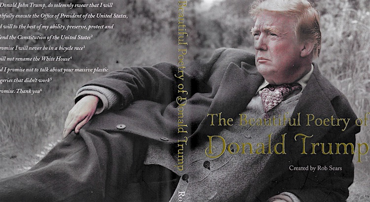 There's a book of 'beautiful' (but strictly unauthorized) poetry by Donald Trump and it's a hoot