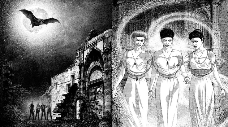 Undead, Undead: John Coulthart's beautiful illustrations for Bram Stoker's 'Dracula'