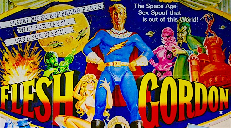'Flesh Gordon,' the 'Space Age Sex Spoof' of the Seventies that's 'out of this world'