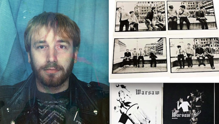 Get your hands on Peter Hook's personal Joy Division and punk memorabilia