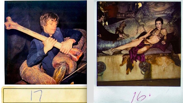 Polaroids from 'Return of the Jedi'