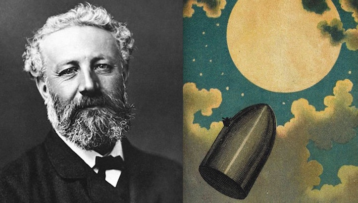 1870 A Space Odyssey: Astoundingly prophetic illustrations for Jules Verne's 'Around the Moon'