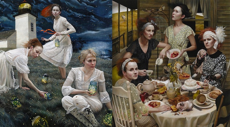 American Gothic: The magical realism of Andrea Kowch