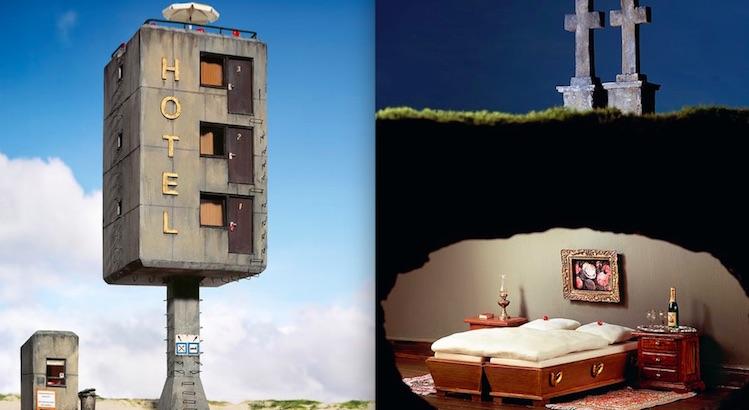 Frank Kunert's darkly surreal and humorous miniature worlds