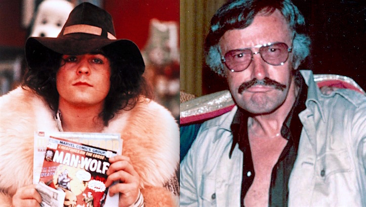That time Marc Bolan interviewed Stan Lee, 'nuff said?