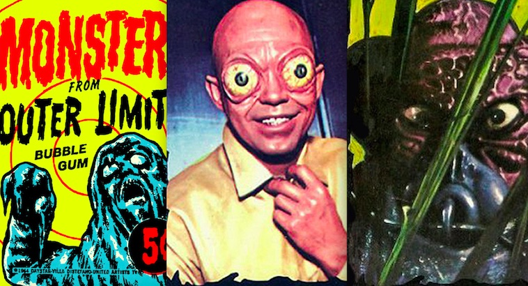 Monsters: 'The Outer Limits' trading cards
