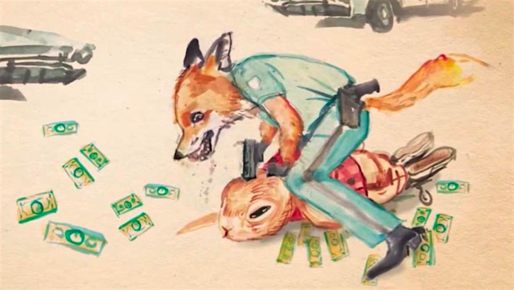 Bad Bunny: True children's stories of violent, drug-fueled family life presented as a kids' book