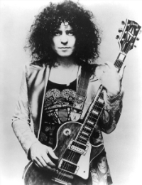 T-Rex: Marc Bolan rehearses 'Get It On (Bang a Gong)' in the studio, 1970