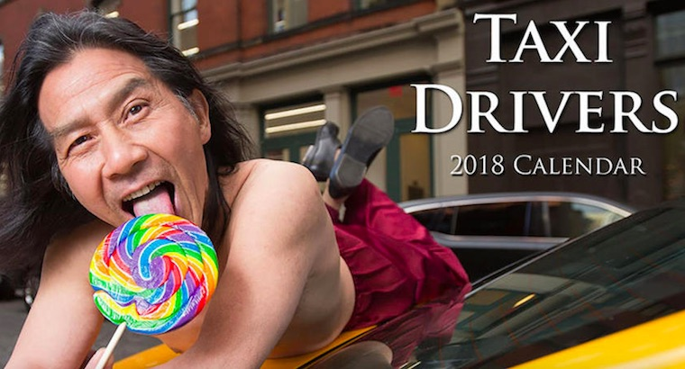 'Taxi!': There's a 'sexy' New York City cab drivers calendar for 2018