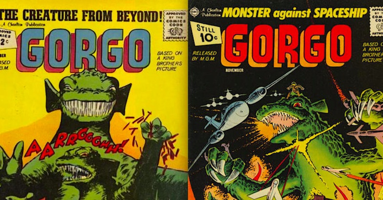 Gorgo smash, Gorgo chomp, Gorgo roar: Gorgo comics 1961-65