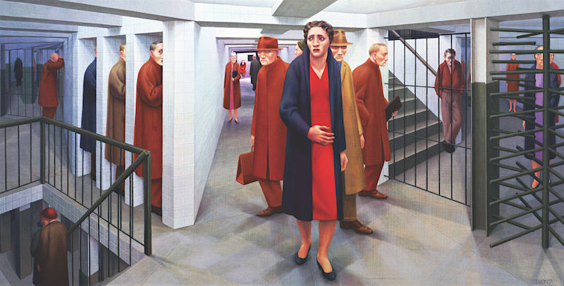 High Anxiety: The surreal & disturbingly dreamlike paintings of George Tooker