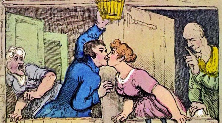 Pornographer Royal: The erotic caricatures of Thomas Rowlandson (NSFW)