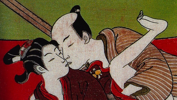 Gay Japanese erotica from the 17th-19th centuries (NSFW)