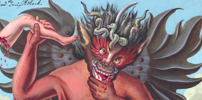 The Devil and his Servants: Demonic illustrations from 18th century occult book