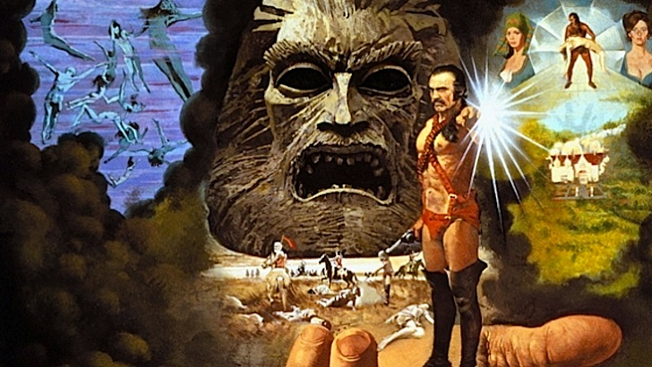 Photo-spread for John Boorman's 'Zardoz', 1974