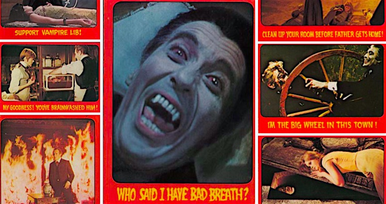 Comedy of Terrors: Hammer Horror Trading Cards from 1976