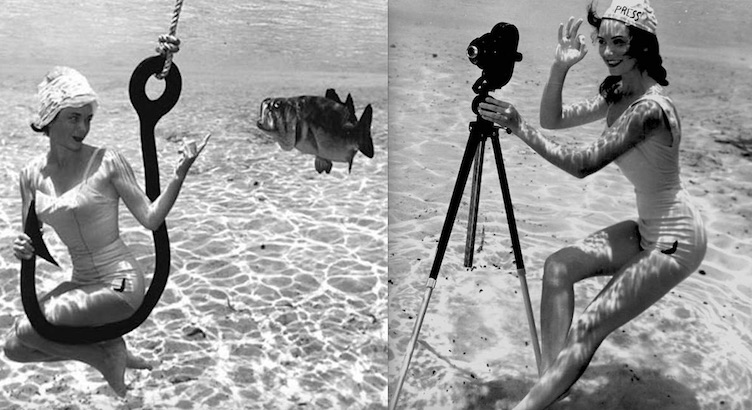 Waterworld: The man who photographed pin-ups… underwater