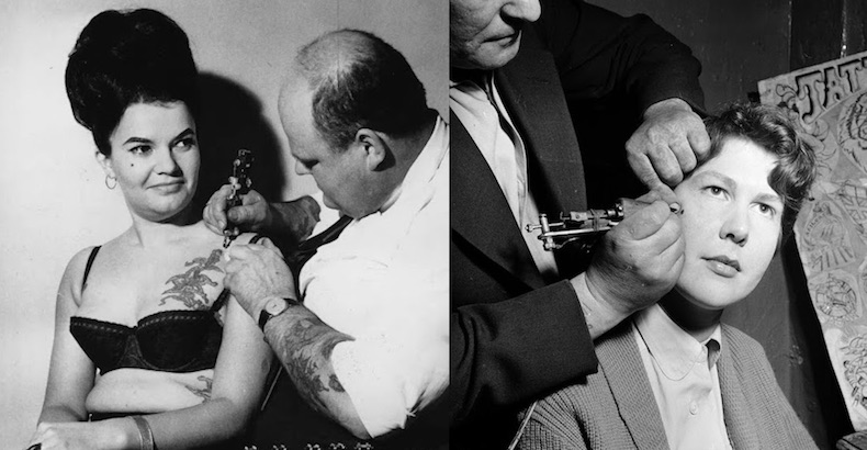 Tattoo You: Vintage photographs of women getting tattoos