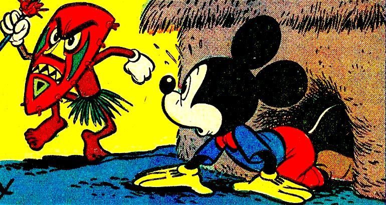That time Mickey Mouse was a drug dealer in Africa