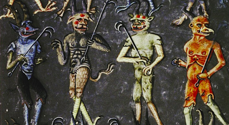Diabolical images of Hell and its demons from the 15th Century
