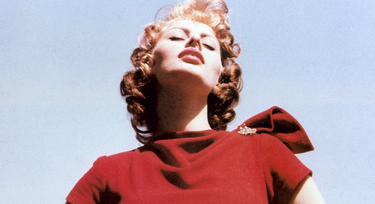 Teenage Sophia Loren was deemed 'too provocative' to win the title of Miss Italy, 1950