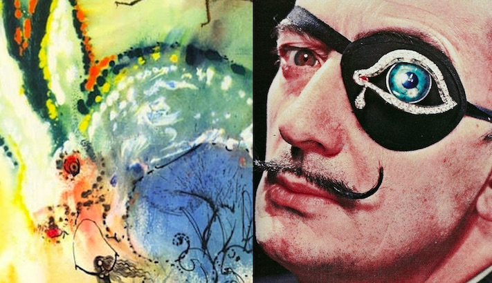 Down the rabbit-hole with Salvador Dali's 'Alice in Wonderland'