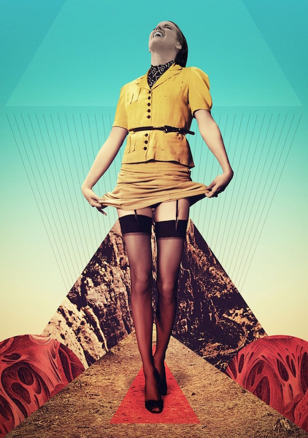 Myths of the Near Future: The collage artwork of Julien Pacaud (NSFW)