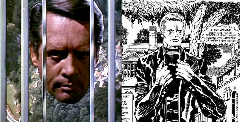 Jack Kirby's unpublished adaptation of 'The Prisoner'