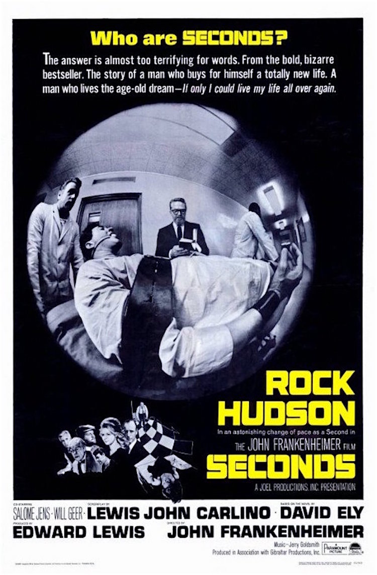That time Rock Hudson staked his talent on a bleak sci-fi movie 'Seconds'