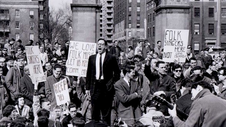 NYC's Beatnik 'riot': How singing 'The Star-Spangled Banner' kicked off the 60s revolution