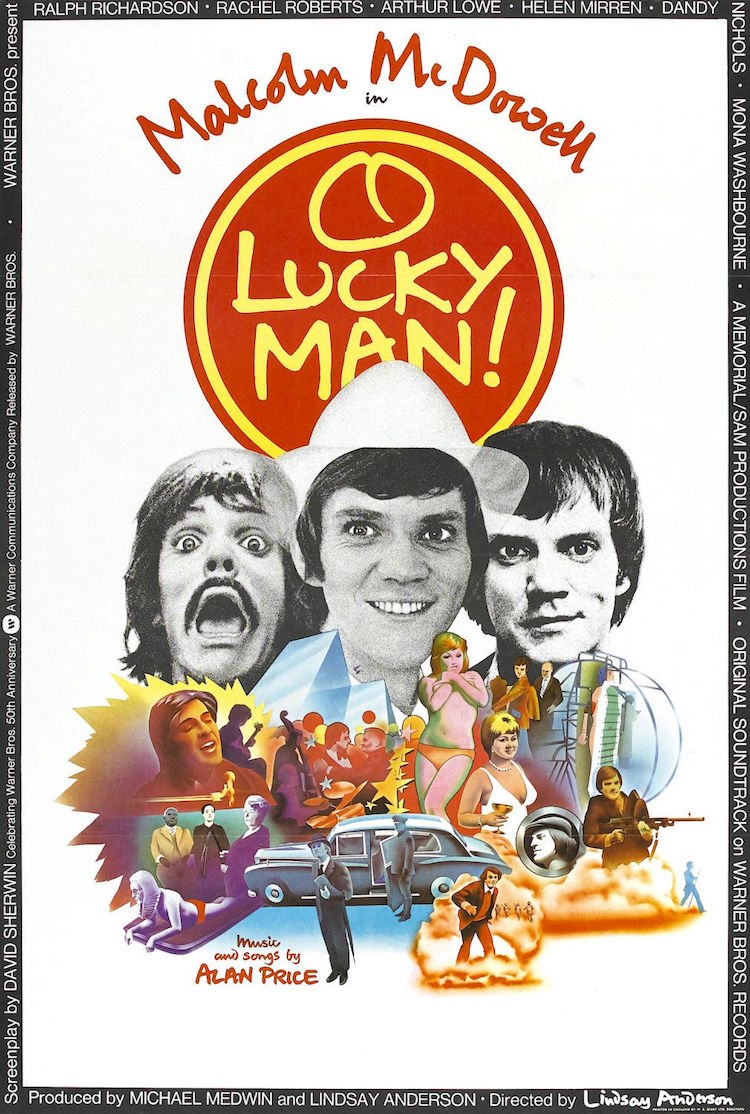Malcolm McDowell and the making of Lindsay Anderson's 'O Lucky Man!'