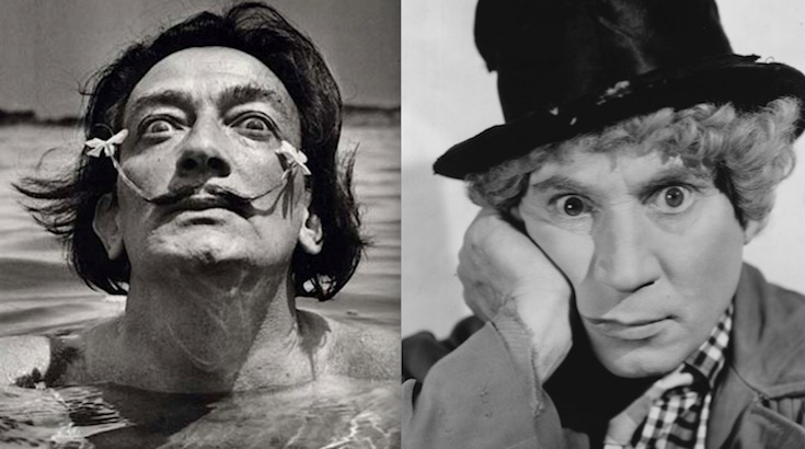 When Dali Met Harpo: Read Salvador Dali's script for the Marx Brothers