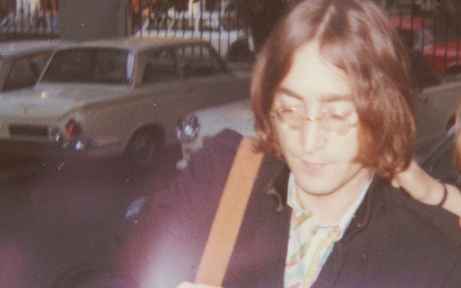 Fan photos of John Lennon in London and New York